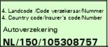 hulpmiddel om groene kaart nummer te vinden